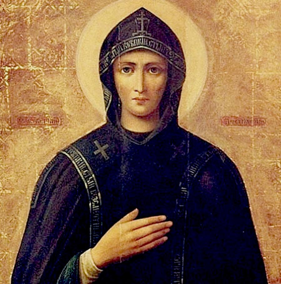 Святая Благоверная Великая княгиня Анна Кашинская.