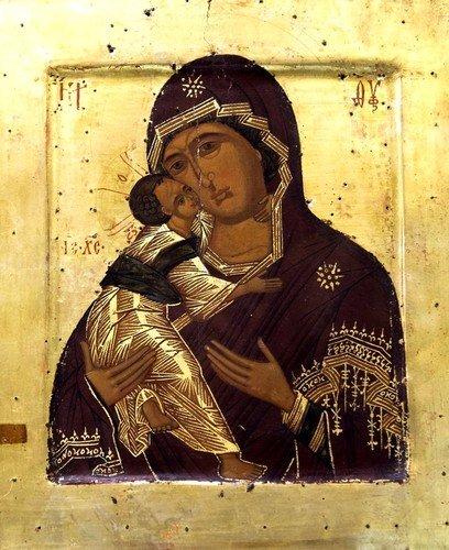 6 ИЮЛЯ - ДЕНЬ ВЛАДИМИРСКОЙ ИКОНЫ БОЖИЕЙ МАТЕРИ.