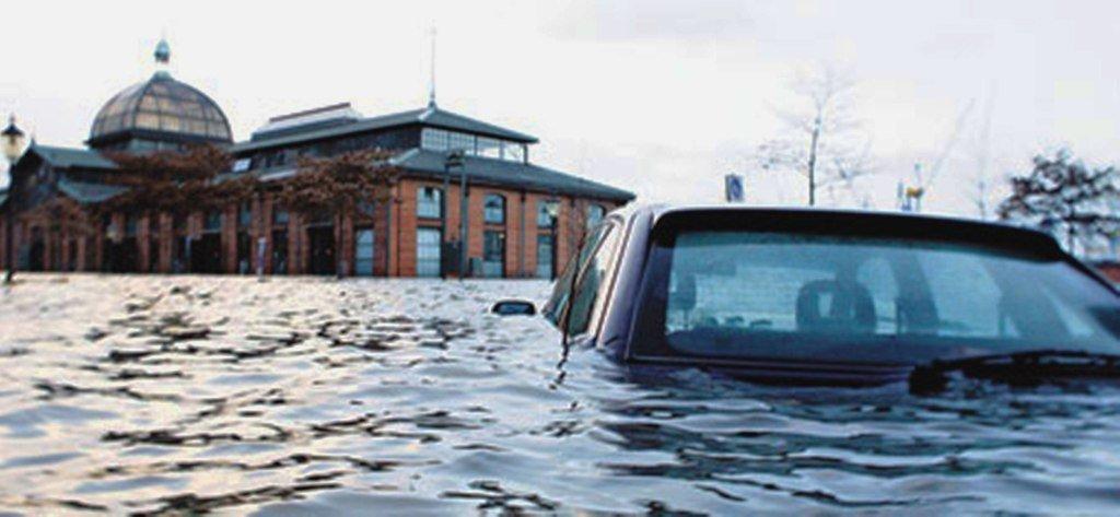Наводнение в Германии. Многие климатические явления наука до сих пор не может прогнозировать ...