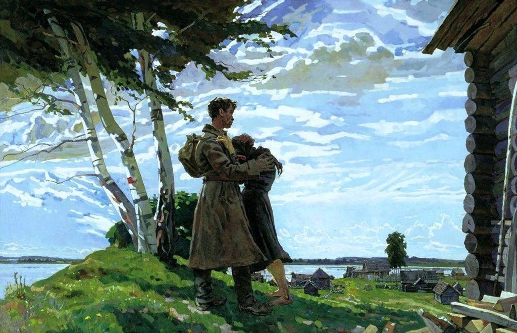 День победы в Чернове. Вячеслав Кондратьев (1)