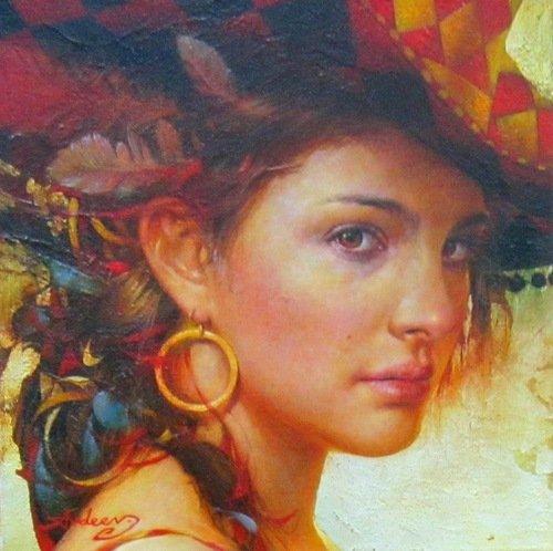 Авдеев Михаил Анатольевич (родился в 1972 году). Портрет.