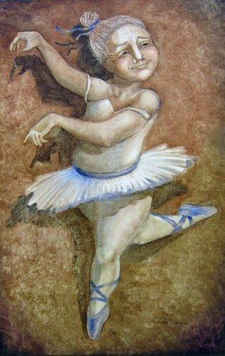 Надежда Ильина. Балерина.