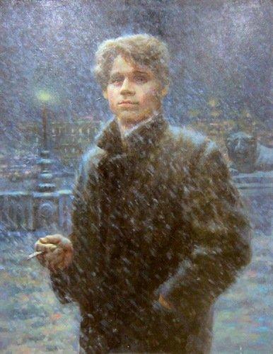 Андрей Шатилов (род. 16 февраля 1987 года). Есенин. 2014 год.