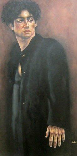 Елизавета Сергеевна Кротова. Парень в чёрном пальто. 2019 год.