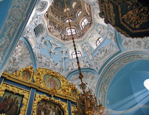 Свод Знаменской церкви в Дубровицах