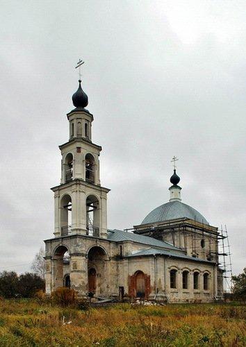 Церковь Покрова Пресвятой Богородицы в Ерино