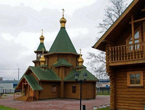 Церковь Георгия Победоносца в Кутузово