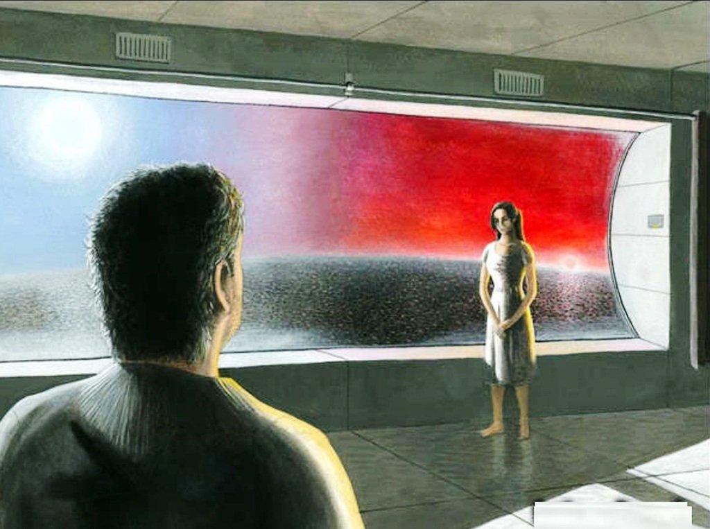 Иллюстрация к произведению Станислава Лема Солярис 005