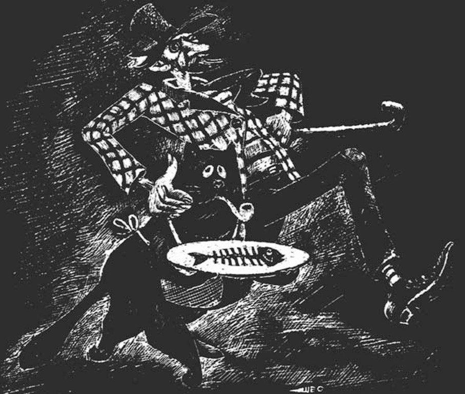 Мастер и Маргарита. Михаил Булгаков. Иллюстрации. Художник Евгений Штыров ... 008