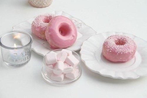 Пончики в глазури.