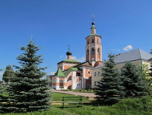 Церковь Вознесения Господня в Предтеченском Вяземском монастыре