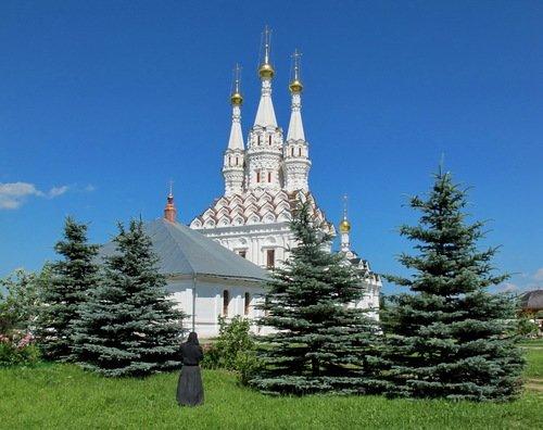 Церковь Иконы Божией Матери Одигитрия в Предтеченском монастыре