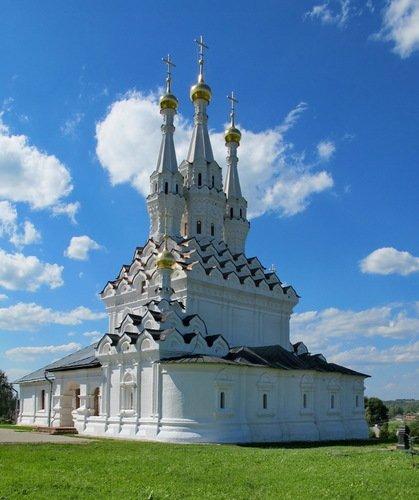 Церковь Иконы Божией Матери Одигитрия в Вяземском Предтеченском монастыре