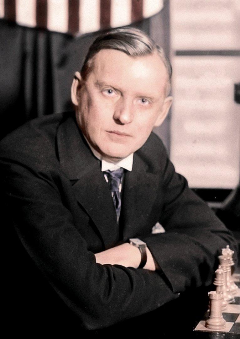 Александр Алехин. (1892 - 1946)