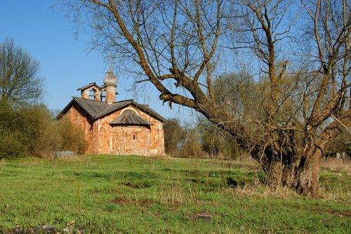 Церковь Иоанна Милостивого на Мячине
