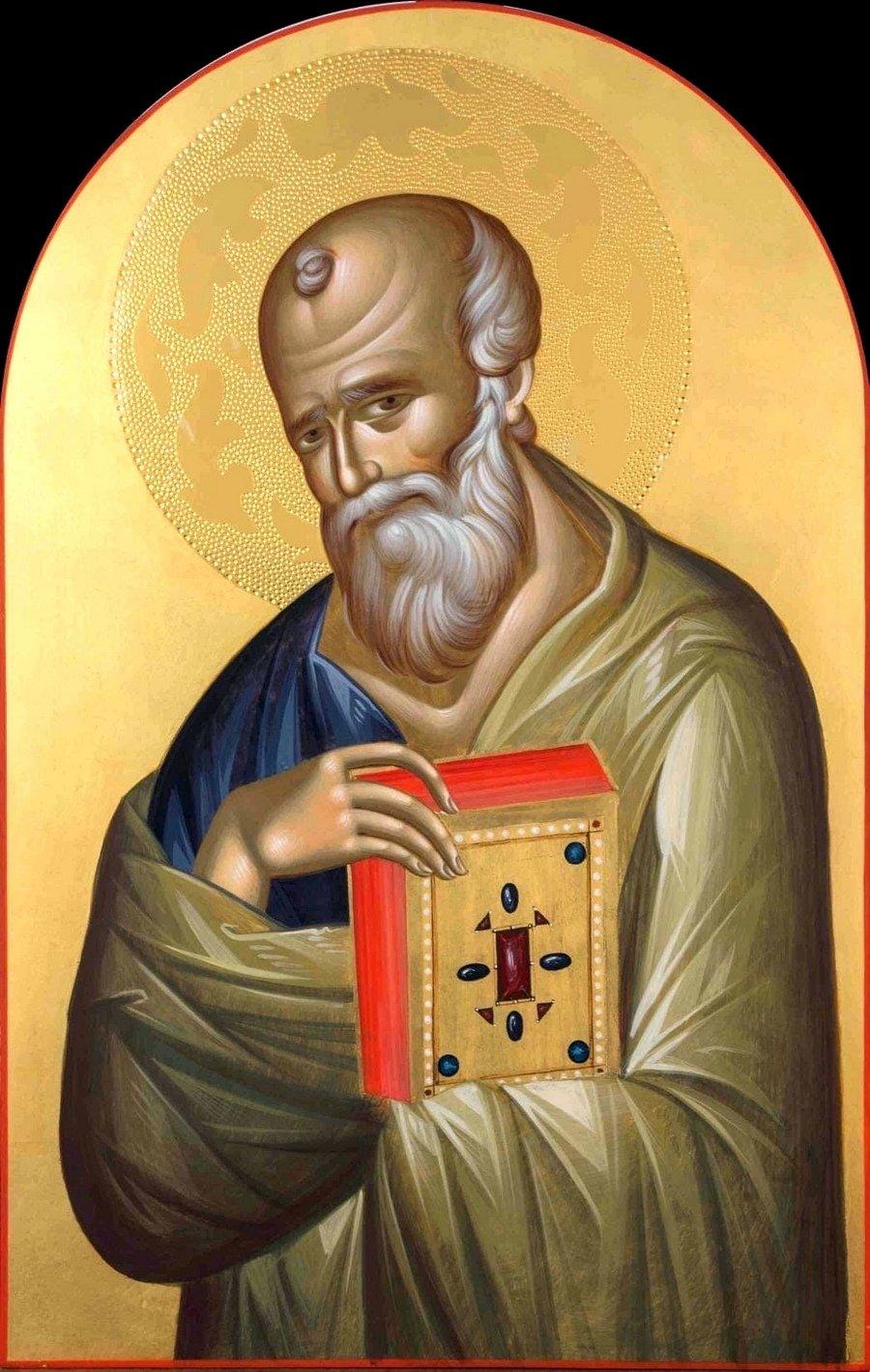 Святой Апостол и Евангелист Иоанн Богослов. Иконописец Ставрос Цакидис.