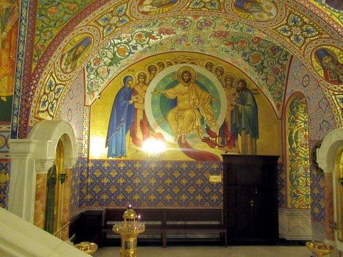 Фрагмент интерьера храма