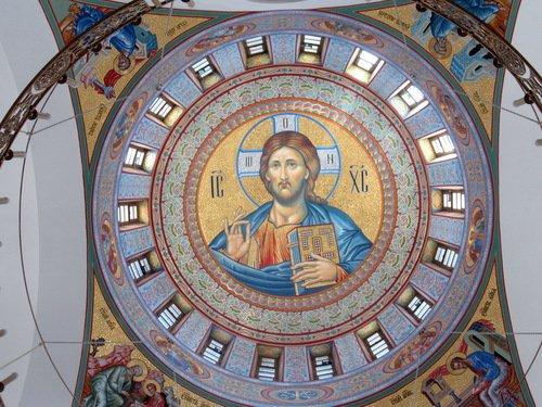 Роспись свода церкви Николая Чудотворца в Красногорске