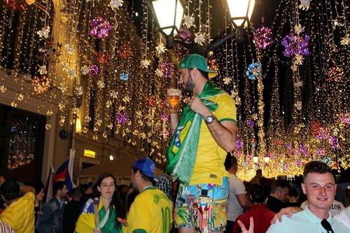 Бразилия выше всех! (Когда с пивом)