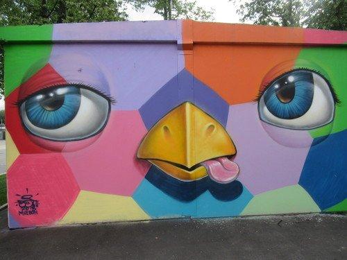 Граффити к чемпионату мира