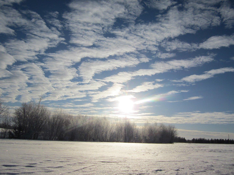 фотографии облаков зимой нашем сервисе