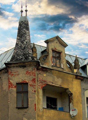 Старый квартал.Башенка