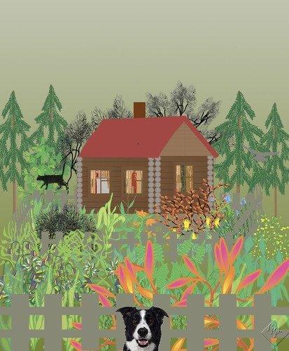 Домик среди леса