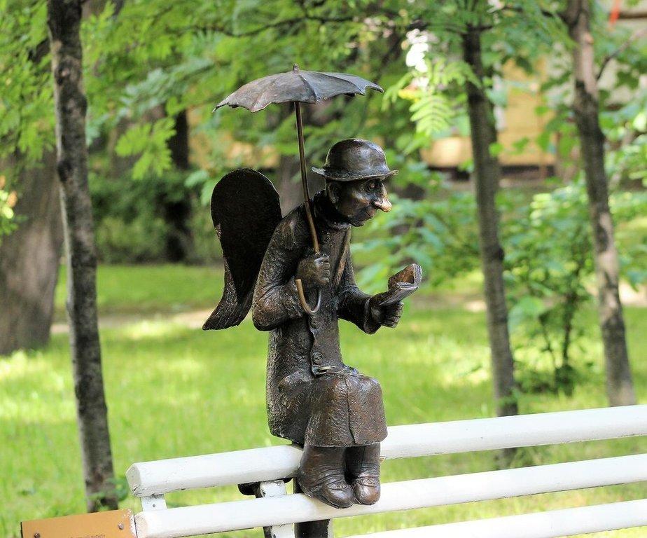 это фото петербургского ангела момент обращения нам