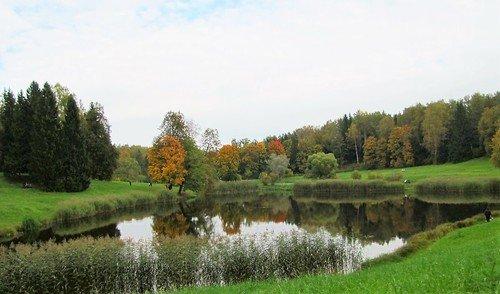 Осень в парке Павловска