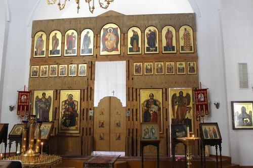 Иконостас собора Рождества Христова в Христорождественском монастыре