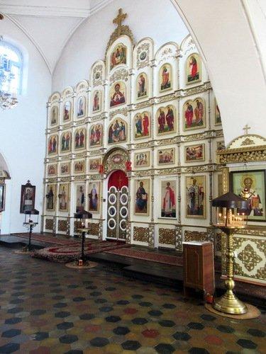 Иконостас церкви Николая Чудотворца в Красной Слободе