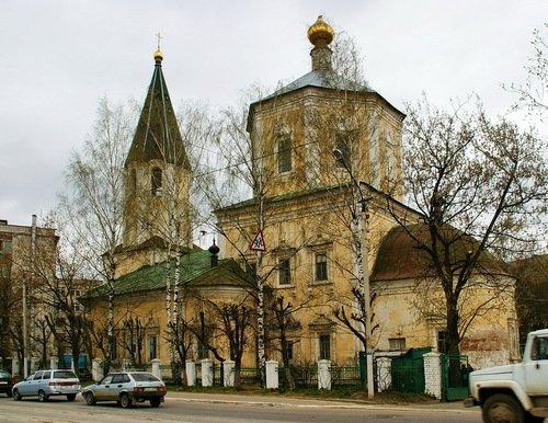 Церковь Троицы Живоначальной, что за Волгой
