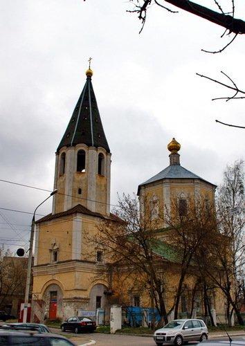Церковь Троицы за Волгой
