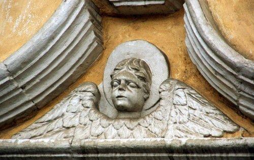 Фрагмент наличника окна церкви Троицы за Волгой, Тверь.