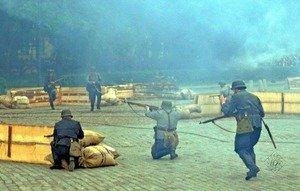 Реконструкция  сражения за Выборг  20 июня 1944 года