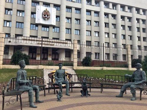 Здание МВД. Нижний Новгород