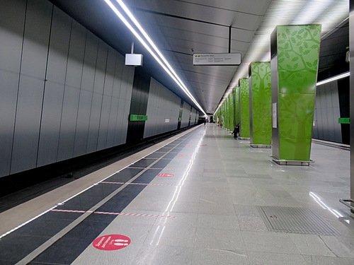 """Станция метро """"Солнцево"""""""