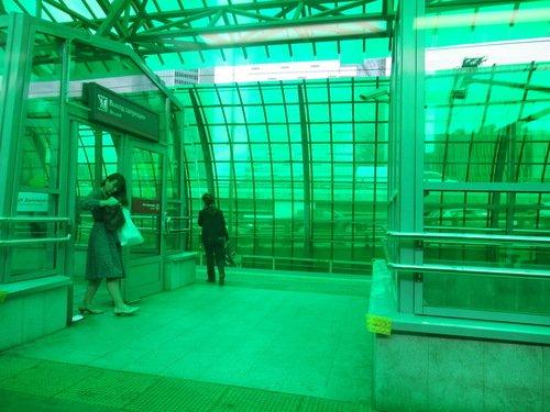 Самая сиреневая станция метро