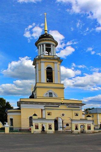 Зачатьевская церковь в городе Чехове