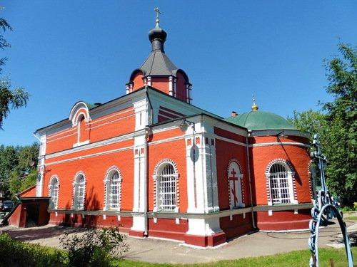 Церковь Иконы Божией Матери Боголюбская в Павшине