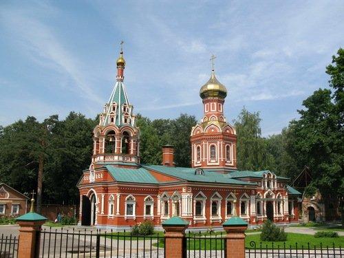 Церковь Иконы Божией Матери Знамение в Знаменском-Губайлове