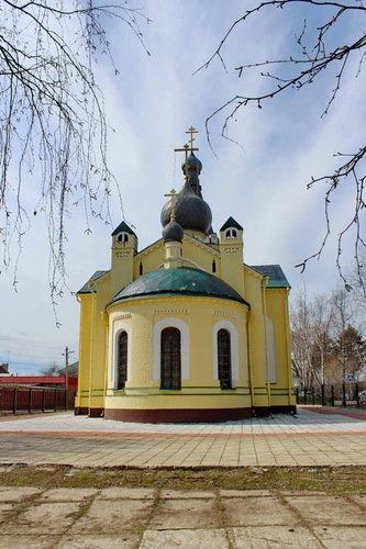 Церковь Николая Чудотворца в Ангелово