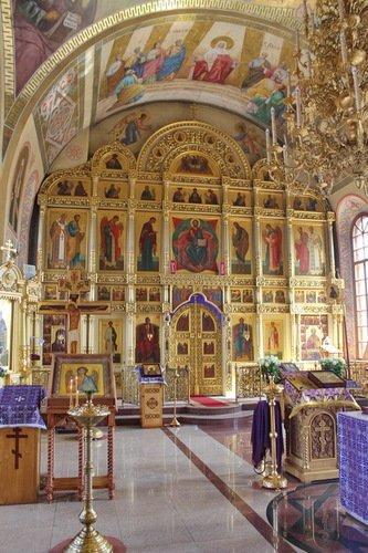 Церковь Николая Чудотворца в Ангелово. Иконостас.