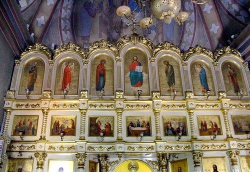 Церковь Иконы Божией Матери Всех Скорбящих Радость в Ильинском. Иконостас.