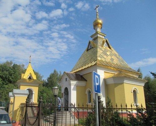 Церковь Иконы Божией Матери Всех Скорбящих Радость в Ильинском