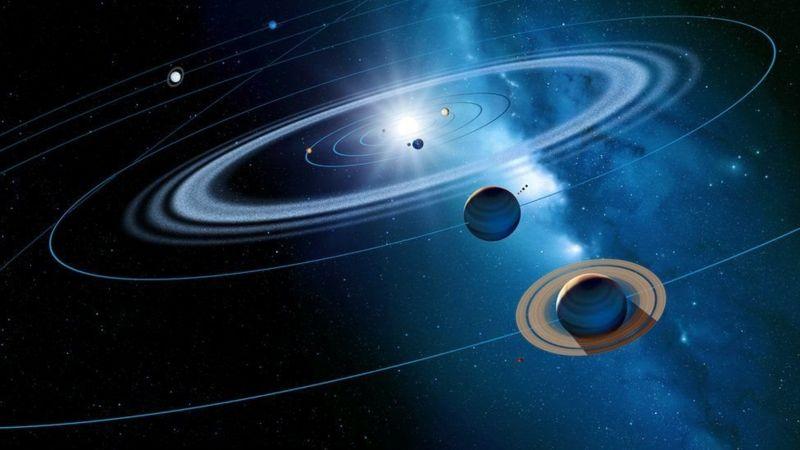 Сближение Сатурна и Юпитера уже началось