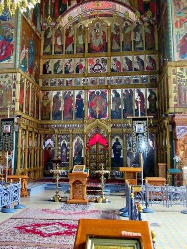 Иконостас Введенской церкви во Введенском Ивановском монастыре