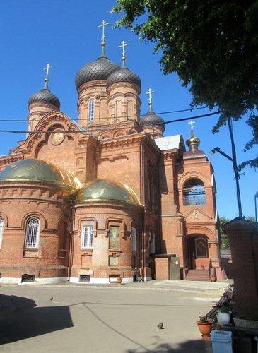 Церковь Иконы Божией Матери Владимирская в Ивановском Владимирском монастыре