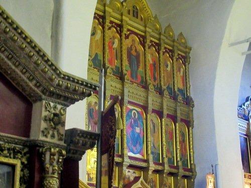Иконостасцеркви Иконы Божией Матери Владимирская в Ивановском Владимирском монастыре