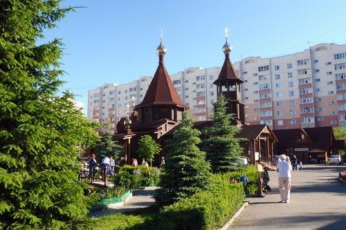 Церковь Серафима Саровского в Иваново